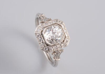 A Diamond  Cluster Ring. £5,250.