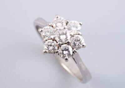 A Diamond Cluster Ring. £1,550.