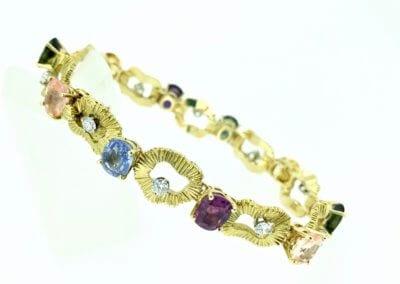 A Multi Sapphire Bracelet by Gubelin - POA