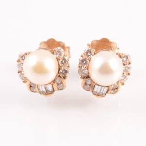 A A Pair of Cultured Pearl