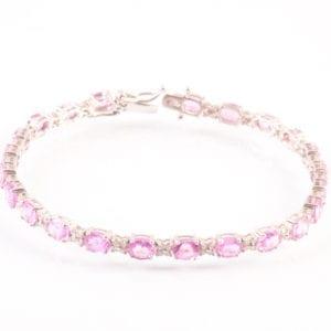 B A Pink Sapphire