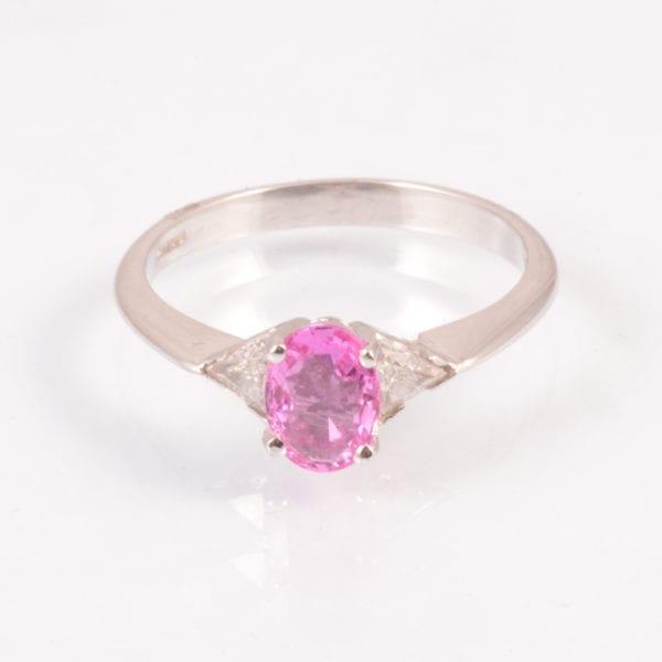 A New Pink Sapphire